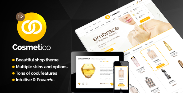 Cosmetico v1.2 – ThemeForest Responsive eCommerce WordPress Theme