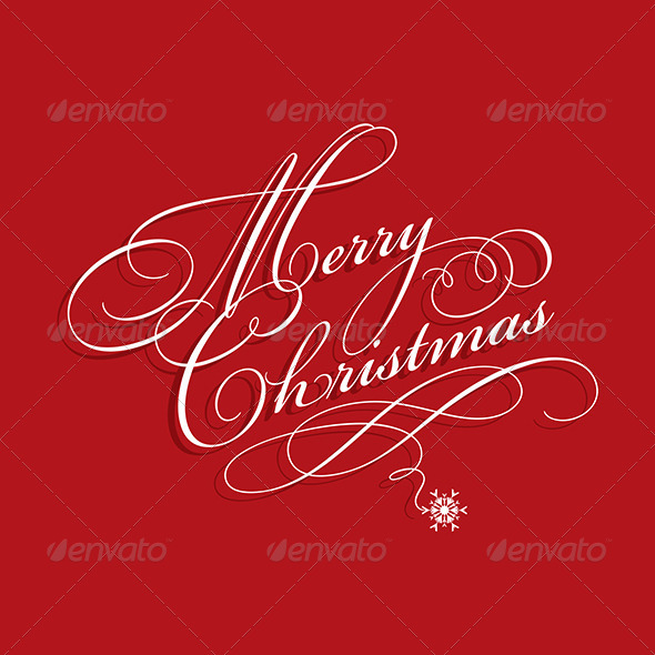 GraphicRiver Merry Christmas Background 5869097