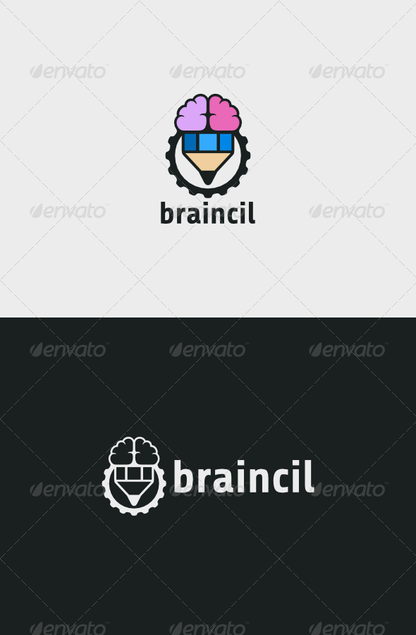 GraphicRiver Braincil Logo 5869442