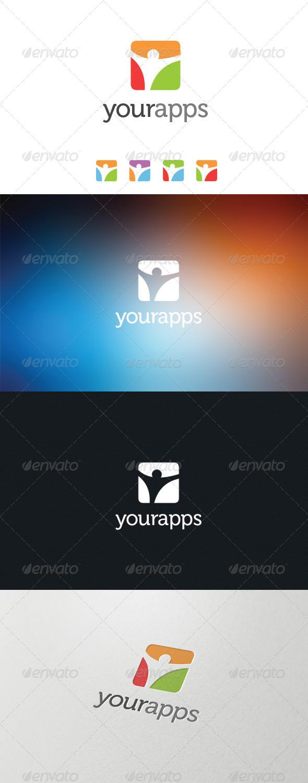 GraphicRiver Your Application Logo 5869700