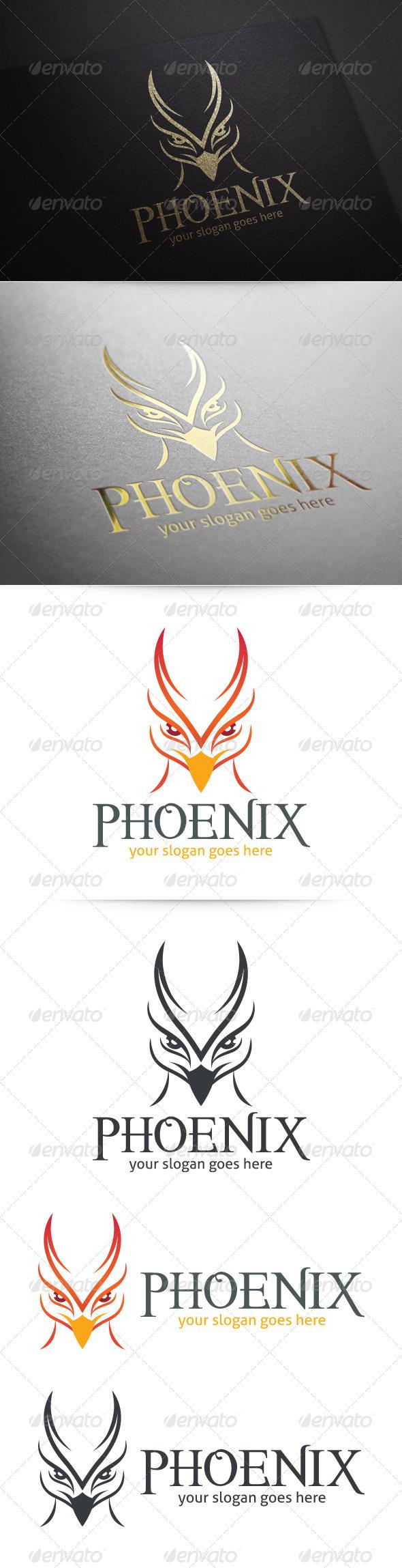 GraphicRiver Phoenix Logo 5869740