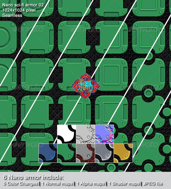 3DOcean Nano sci-fi armor 02 5869840