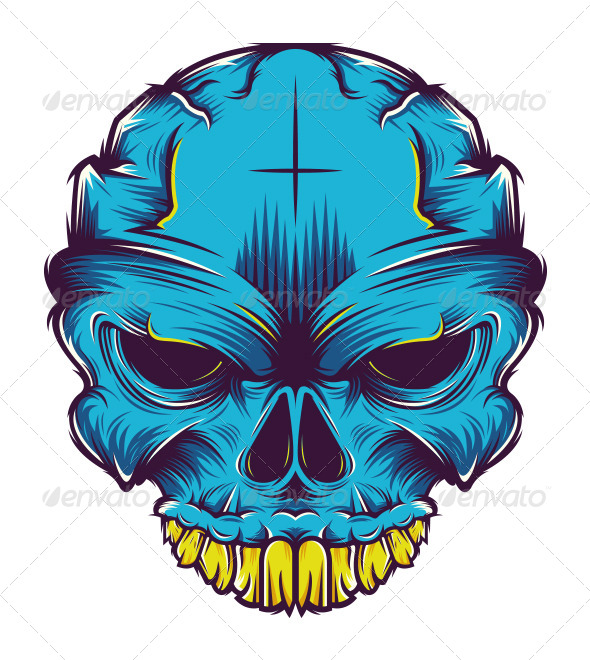 GraphicRiver Skull 5871245