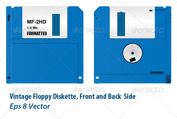 GraphicRiver Floppy Diskette 5871595
