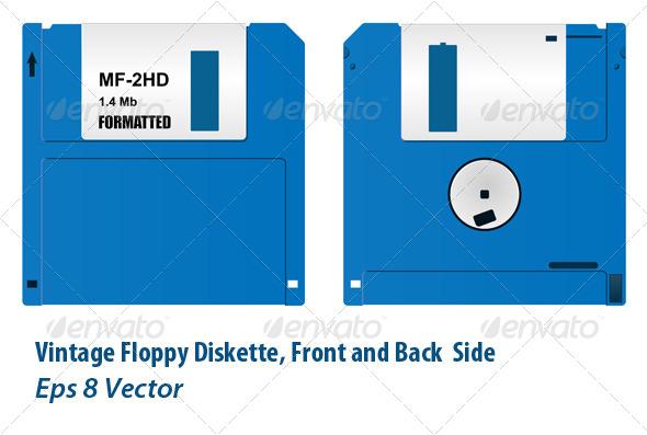GraphicRiver Floppy Diskette 5871595
