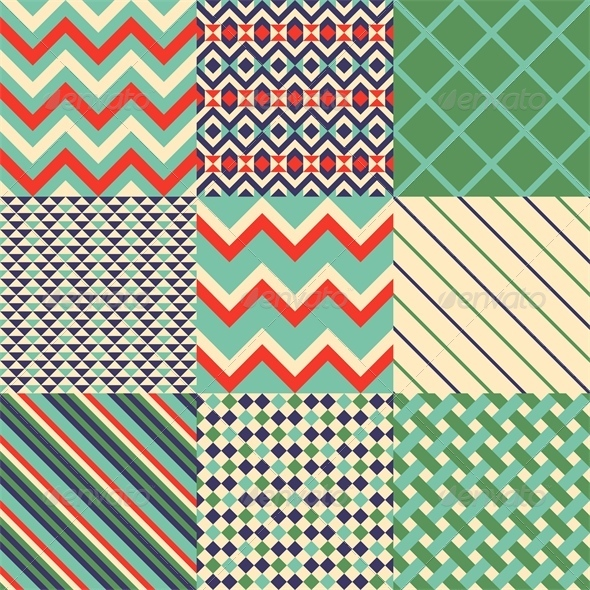 GraphicRiver Abstract Patterns 5871695