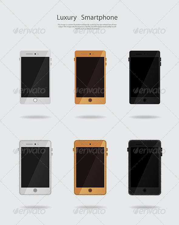 GraphicRiver Smartphone Set 5871843