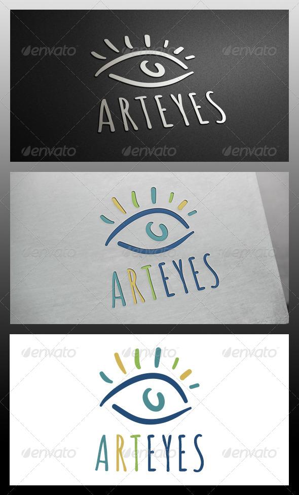 GraphicRiver Eye Art Logo Template 5871903