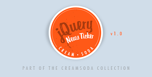 CodeCanyon Cream Soda Responsive jQuery News Ticker 5829088