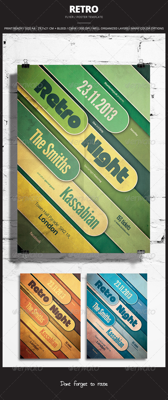 GraphicRiver Retro Flyer Poster 3 5872309