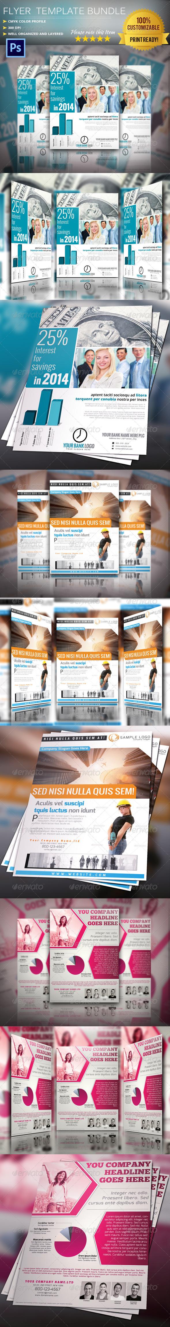 GraphicRiver Flyer Poster Bundle Vol.4 5872362