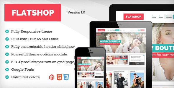 Flatshop - Responsive & Retina Magento Theme - Magento eCommerce