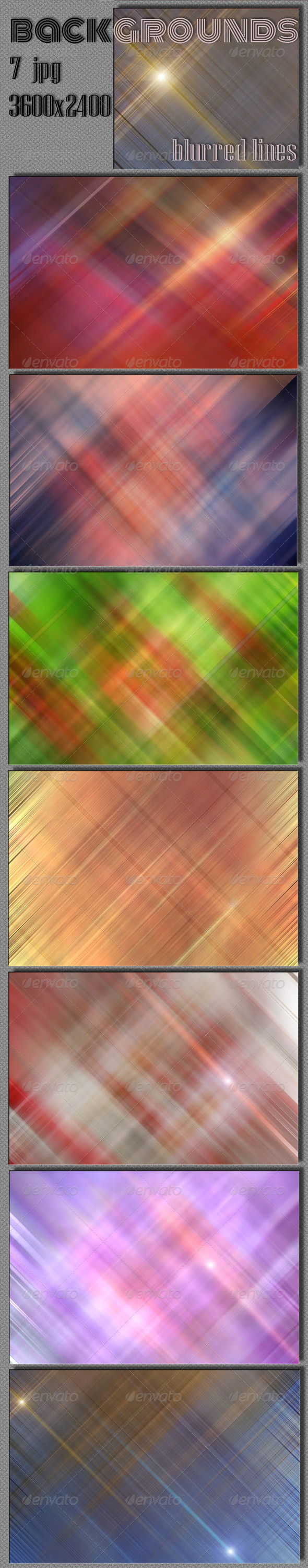 GraphicRiver Blur Lines Backgrounds 5872506
