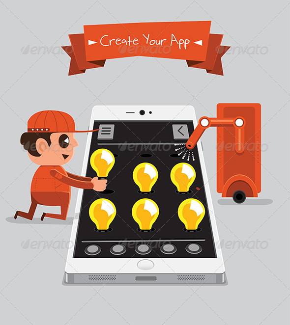 GraphicRiver Technician Creating App 5871593