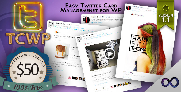 TCWP – Supercharged Twitter Card Management for WP The number one problem facing small business and websites today, is the fact that they can't eff