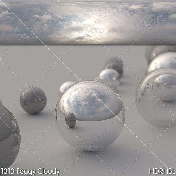 3DOcean HDRI IBL 1313 Foggy Cloudy 5873024