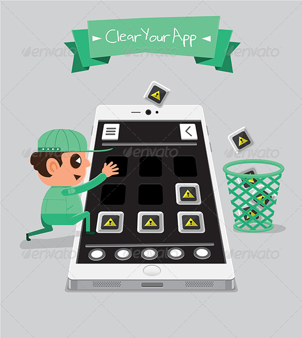GraphicRiver Technician Clearing App 5871599