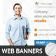 Multipurpose Business Marketing Banners 004 - GraphicRiver Item for Sale