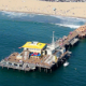 Santa Monica Pier Aerial Shot Los Angeles - VideoHive Item for Sale