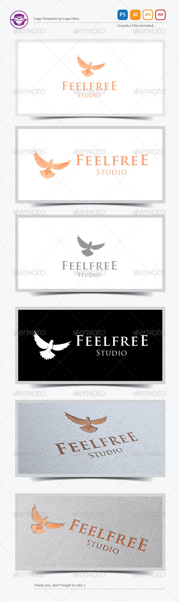 GraphicRiver Feel Free Logo Template 5874179