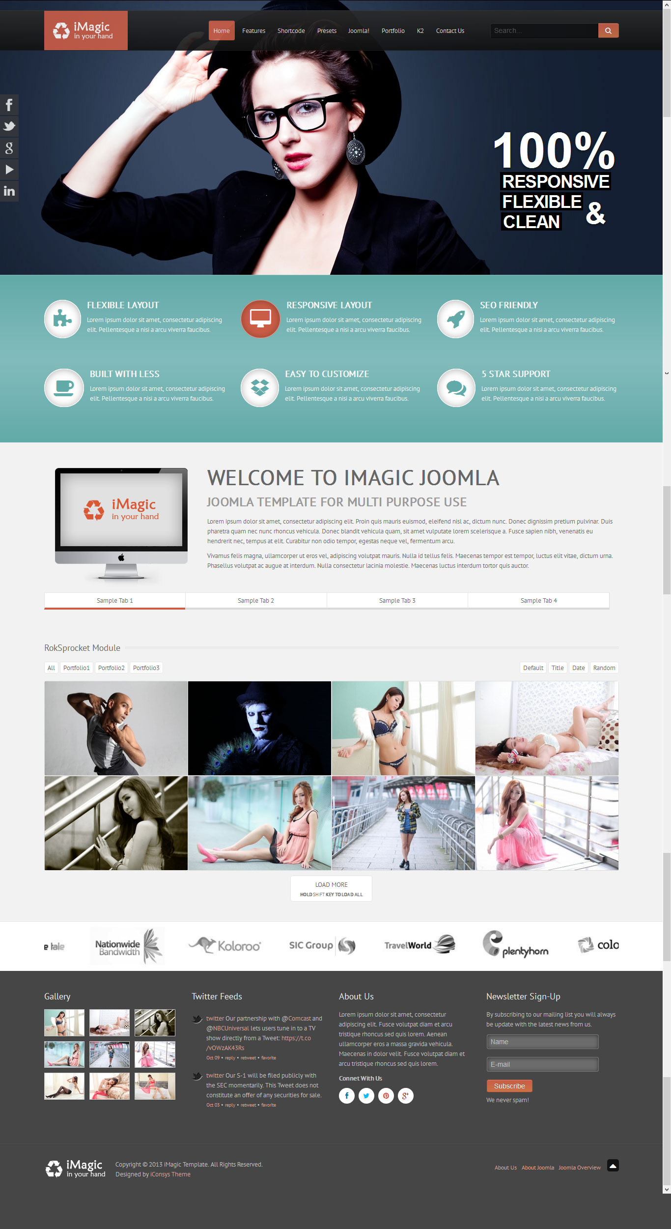 iMagic - Responsive Multi-Purpose Joomla Theme