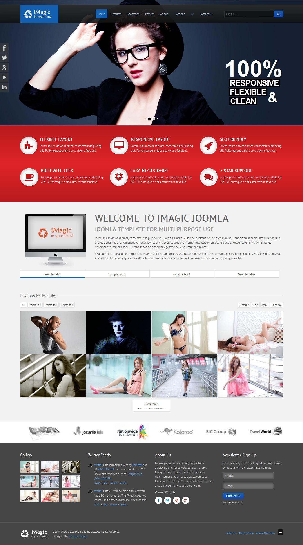 iMagic - Responsive Multi-Purpose Joomla Theme