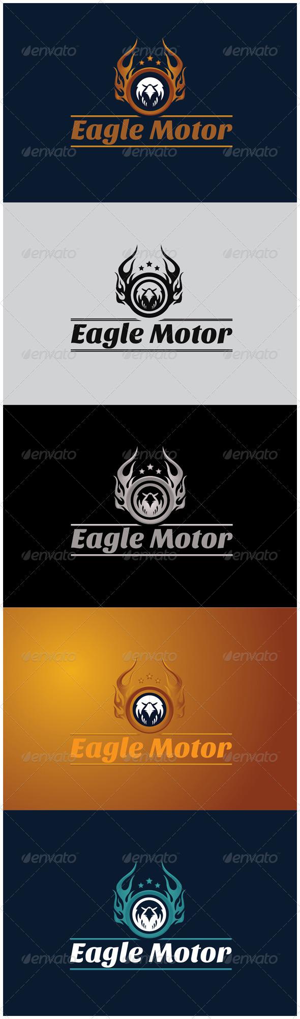 GraphicRiver Eagle Motor 5874793