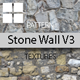 Old Stone Wall Surface Textures V3