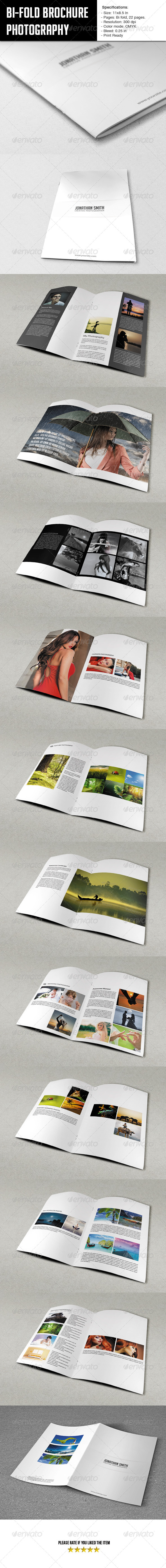 GraphicRiver Bifold Brochure-Photographer Portfolio 5875041
