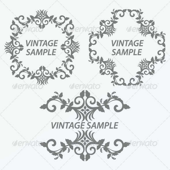GraphicRiver Vintage Frame 32 5875385