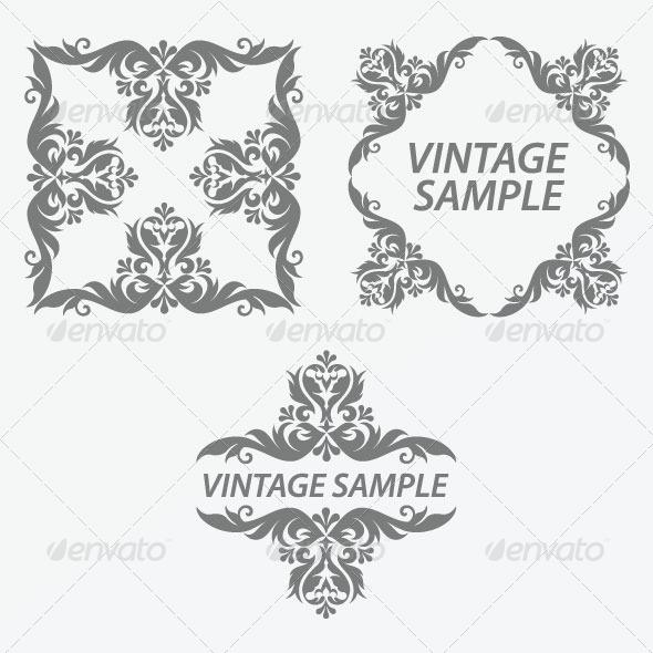 GraphicRiver Vintage Frame 33 5875489