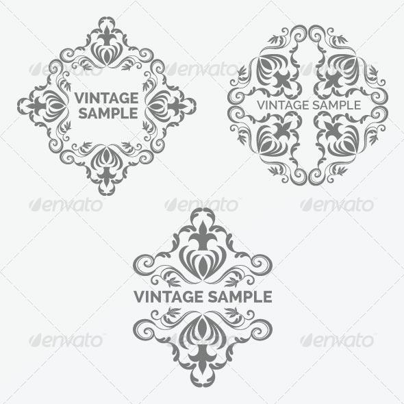 GraphicRiver Vintage Frame 36 5875563