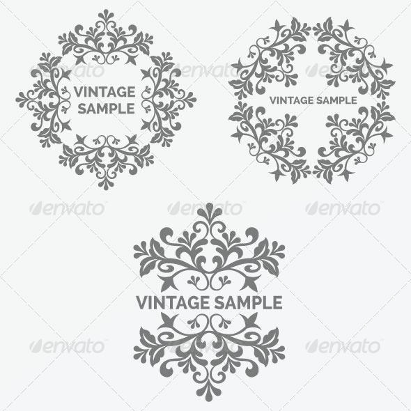 GraphicRiver Vintage Frame 39 5875598