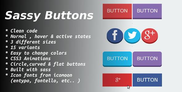 CodeCanyon sassy buttons 5869731