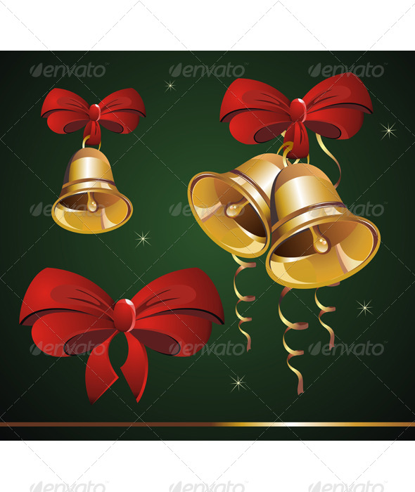 GraphicRiver Christmas Bell 5875935