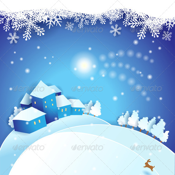 GraphicRiver Christmas Eve 5876062