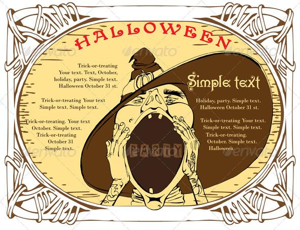GraphicRiver Halloween Invitation 5876086