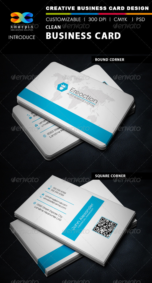 GraphicRiver Clean Business Card 5877051