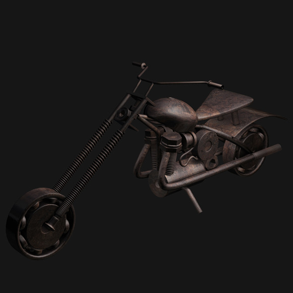 3DOcean toy bike 5877254
