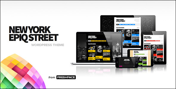 EPIQSTREET WordPress Theme от IHFACE