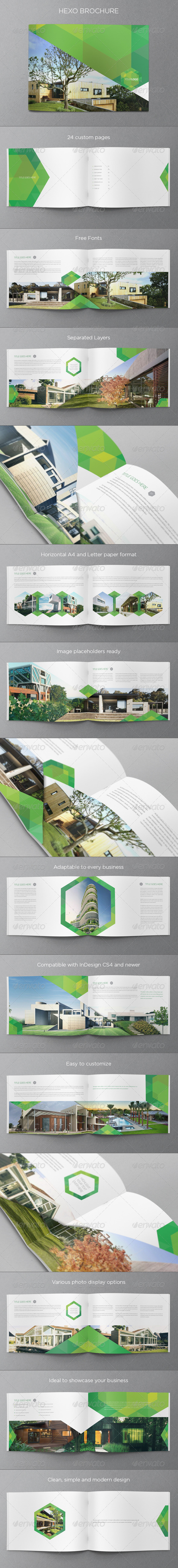 GraphicRiver Real Estate Ecologic Brochure 5879542