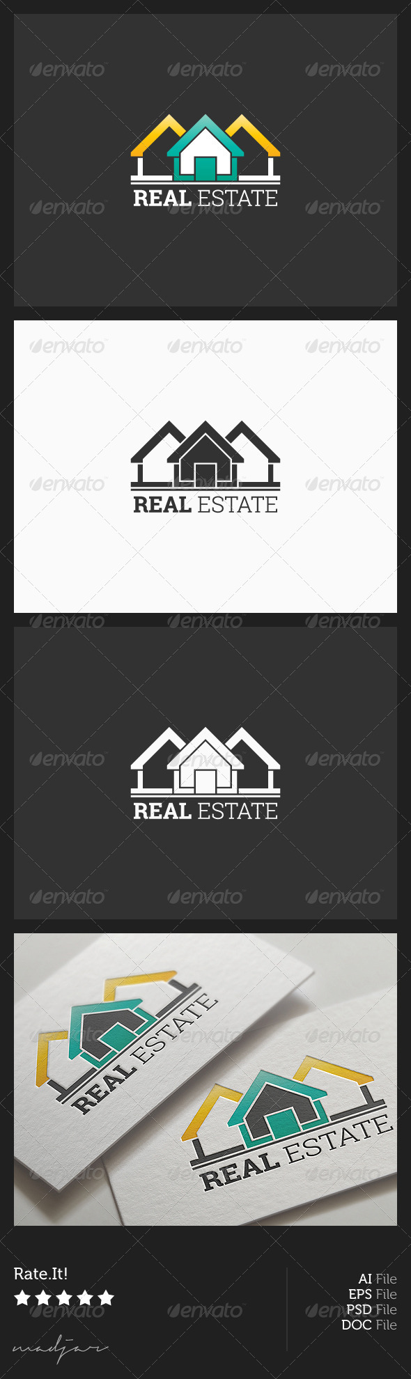 GraphicRiver Real Estate Logo 5879816