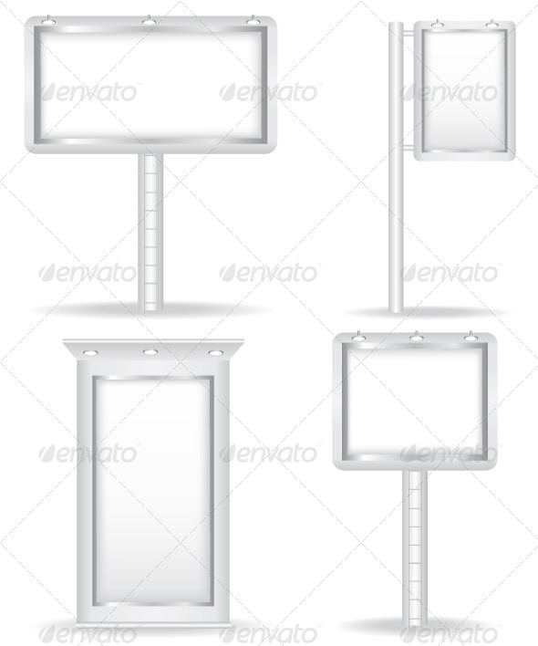 GraphicRiver Billboard Vector Illustration 5880183