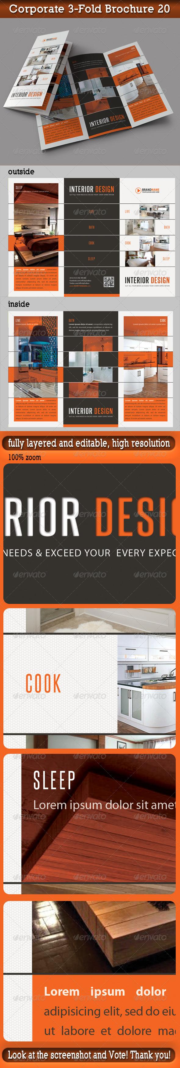 GraphicRiver Corporate 3-Fold Brochure 20 5842057