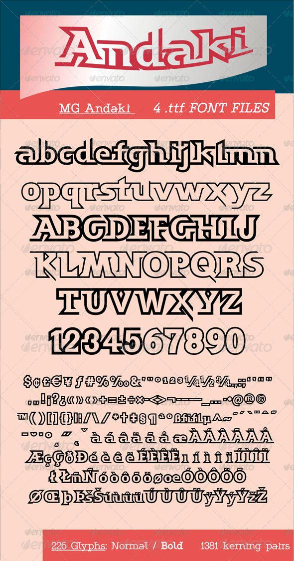 GraphicRiver MG Andaki 5880458