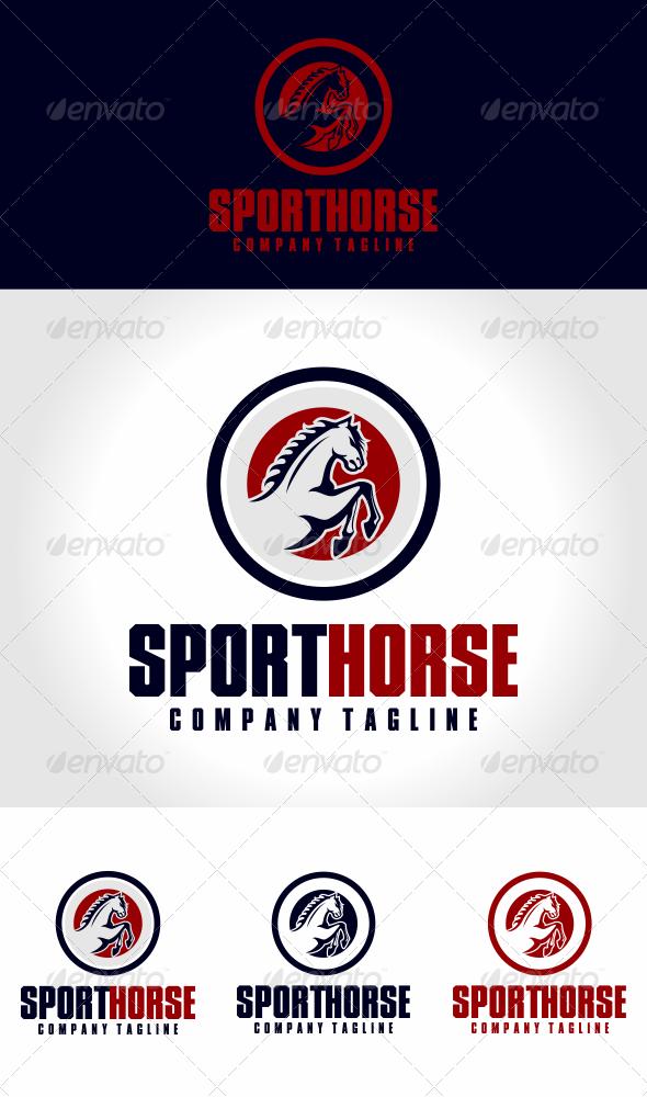 GraphicRiver Sport Horse Logo Template 5862782