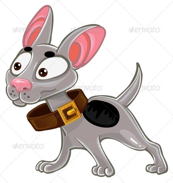 GraphicRiver Little White Dog 5880944
