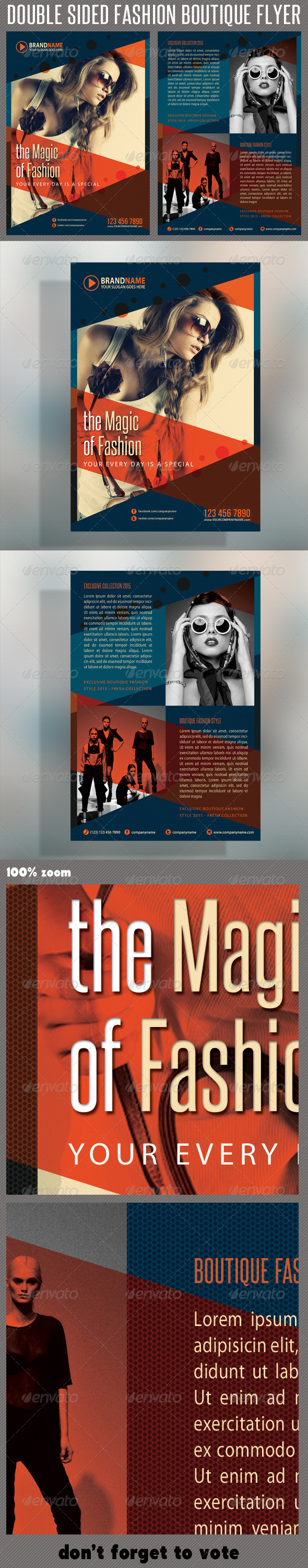 GraphicRiver Fashion Product Flyer 03 5842079