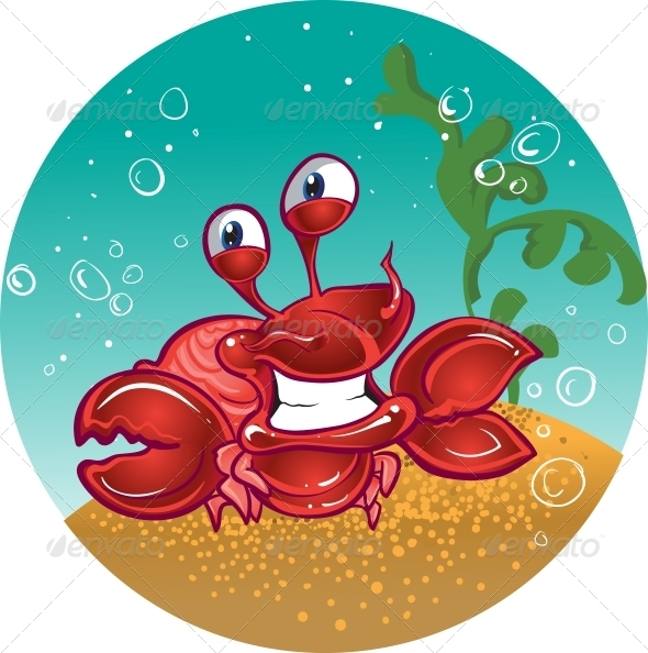 GraphicRiver Red Fiddler Crab 5881384