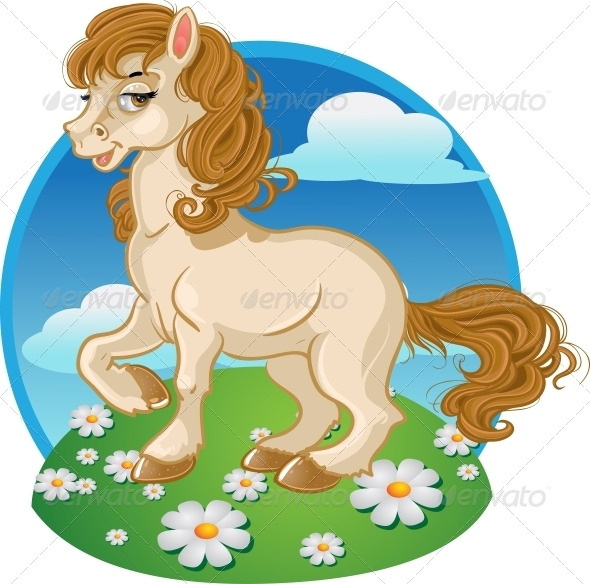 GraphicRiver Horse or Pony 5881945